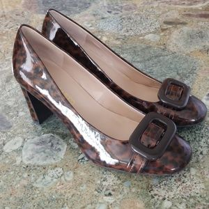 Franco Sarto Fashionable Patent Leather Heels